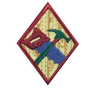 14 best girl scouts do it yourself badge images on pinterest diy woodworker badge solutioingenieria Image collections