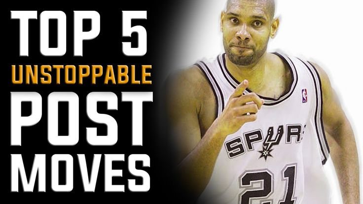 Top 5 Unstoppable Post Moves (Easy Buckets): Footwork for Centers and Po...