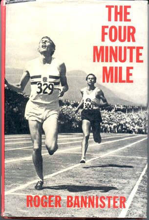 1954 Roger Bannister breaks the 4 minute mile barrier