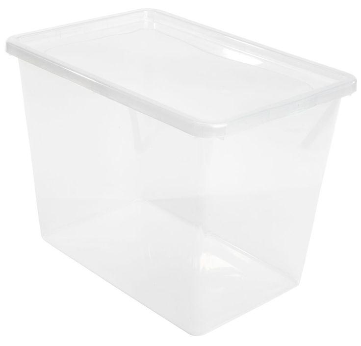 Cutie depozitare BASIC BOX 80L cu capac | JYSK