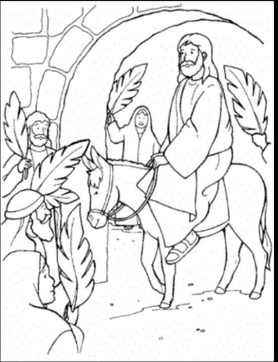 Palm Sunday: Look Who's Coming Use this activity to help