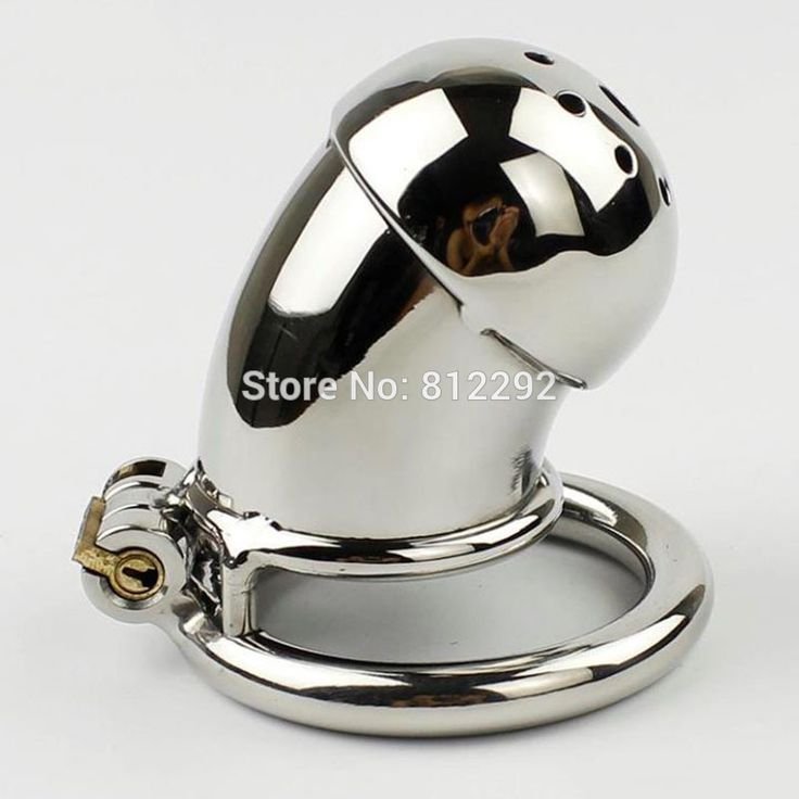 ==> [Free Shipping] Buy Best NEW Male Chastity Cage Penis Lock Sex Toys Stainless Steel Cock Cage Chastity Device For Men Bondage Belt Online with LOWEST Price | 32765309903