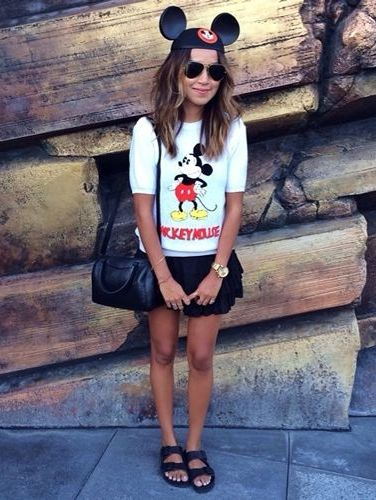 What stylish grown-ups wear on their trips to Disney World
