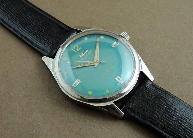 Vintage HMT Pilot Hand Wind 17 India Mechanical In Mint Condition Military Watch #HMT #Casual
