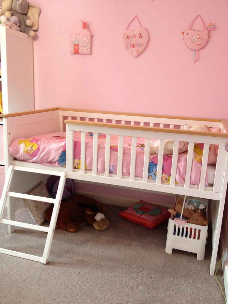 cabin bed with cot underneath 1