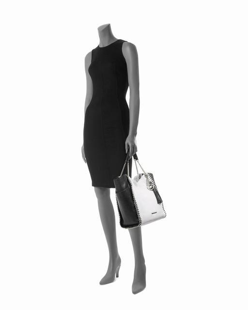 Michael Kors Große Chelsea Zweifarbige Tasche Schwarz Optisch Weiß online kaufen 2 #fashionhandbags#jewellery|#jewellerydesign}