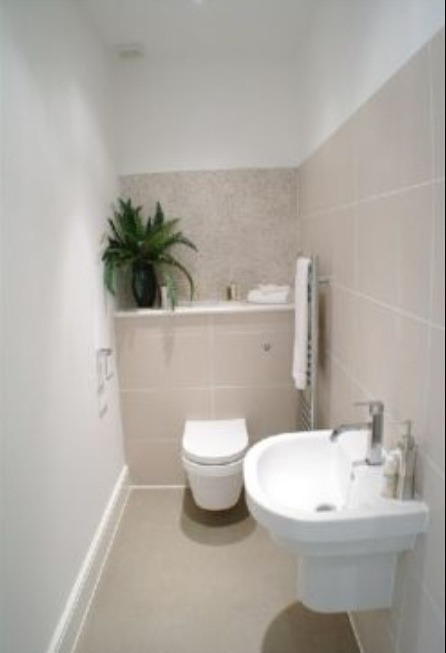 Best Cloakroom Ideas Images On Pinterest Cloakroom Ideas - Small cloakroom toilet ideas