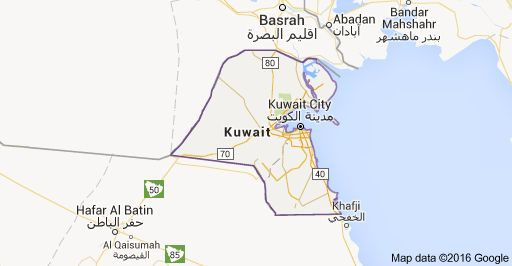 Checkout elevations, mountain ranges, rivers, plains and other - new world map kuwait city