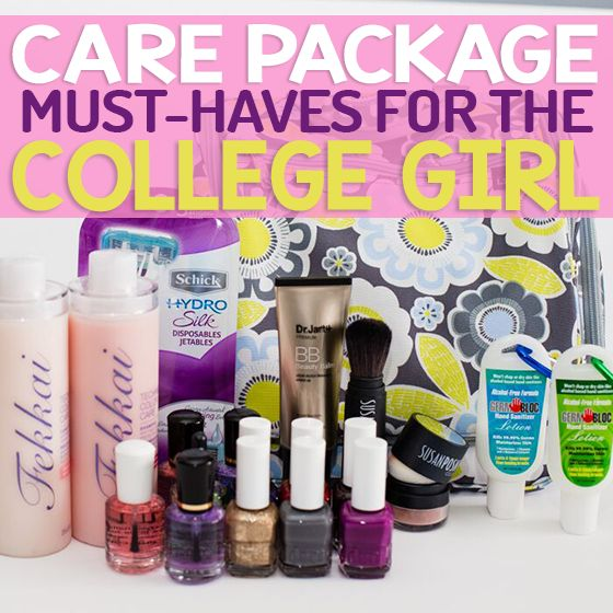 Care Package Must Haves for The College Girl #ad