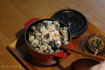 굴밥 with 스타우브 라이스 꼬꼬떼 : 네이버 블로그