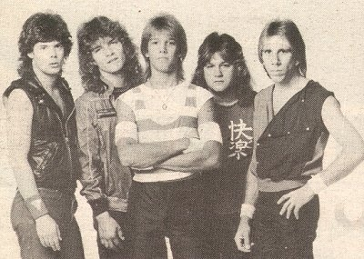 Rock band Tesla - Formed in Sacramento in 1985