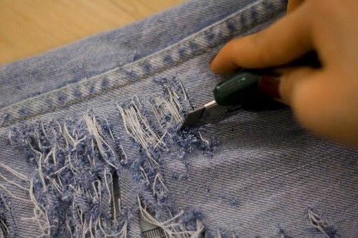 holes in jeans. Several nice things in this post.