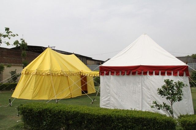 Medieval Round end Marquees by  Sangeeta International