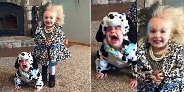 Esta talvez seja a melhor fantasia de Halloween deste ano: Cruella de Vil e dálmata