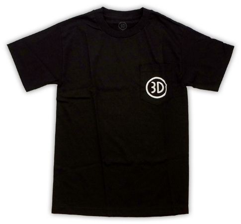 3D Skateboard Co. Pocket Logo Tee