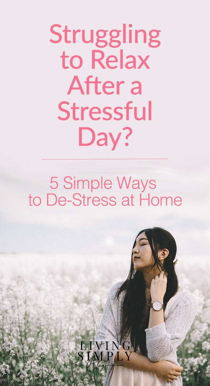 Simple Ways To De-Stress at Home | Mental Health Tips