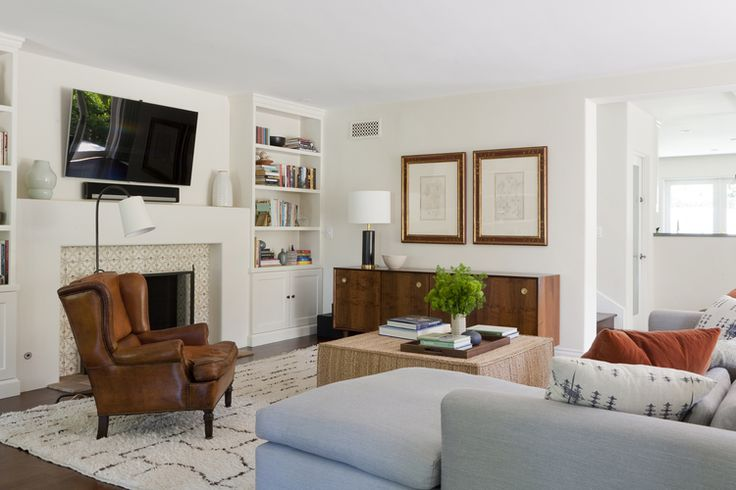 Modern Meets Casual Elegance House Beautiful Pinterest