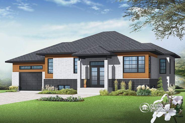 Détail du plan de Maison unifamiliale W3128-V2