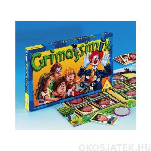 Grimassimix társasjáték Piatnik grimaszoljunk játék! (309)