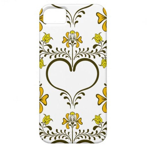 Abstract floral pattern iPhone 5 cover