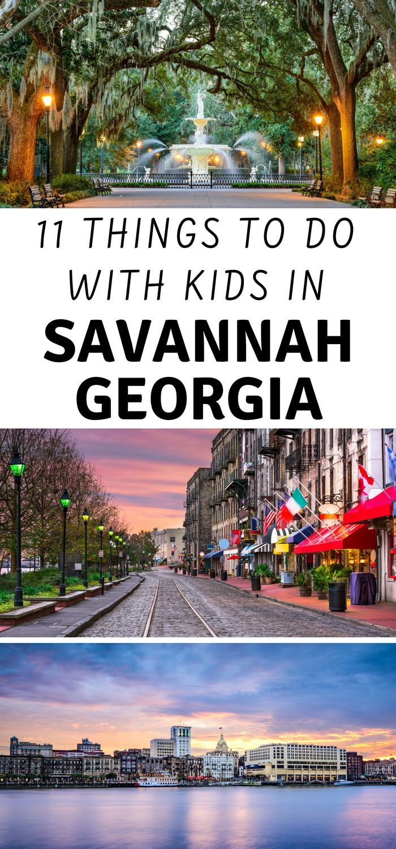 11 Kids Friendly Things To Do In Savannah Ga 3 Boys And A Dog Savannah Chat Georgia Vacation Kid Friendly Vacations