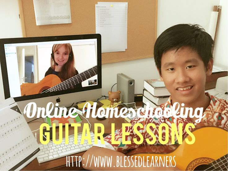 Online Homeschooling Guitar Lessons - Blessed Learners