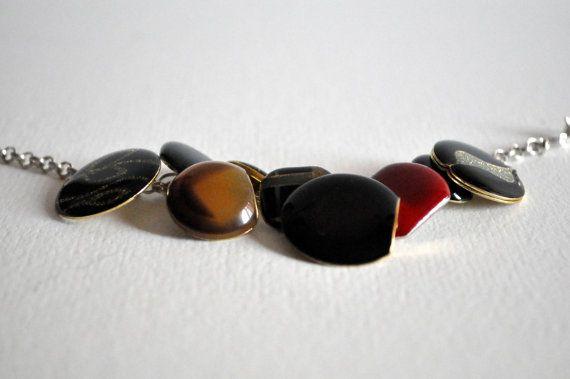 Vintage buttons bracelet di RiciclAr su Etsy #handmade #ecodesign #vintage #button #bracelet
