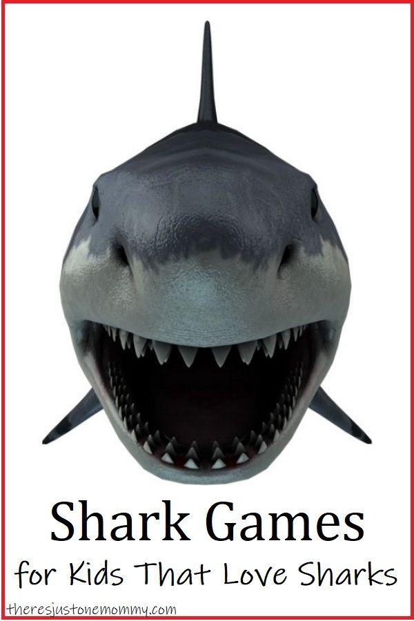 Shark Games For Kids Shark Games For Kids Shark Games Games For Kids