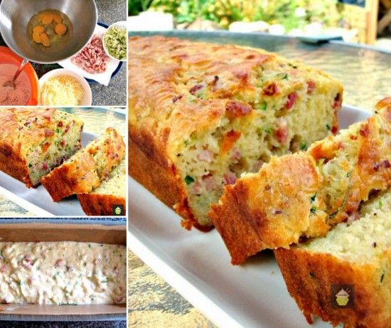 Bacon and Cheddar Zucchini Bread. Yum ! oh the wonderful aroma that spreads through the home and into the neighborhood.