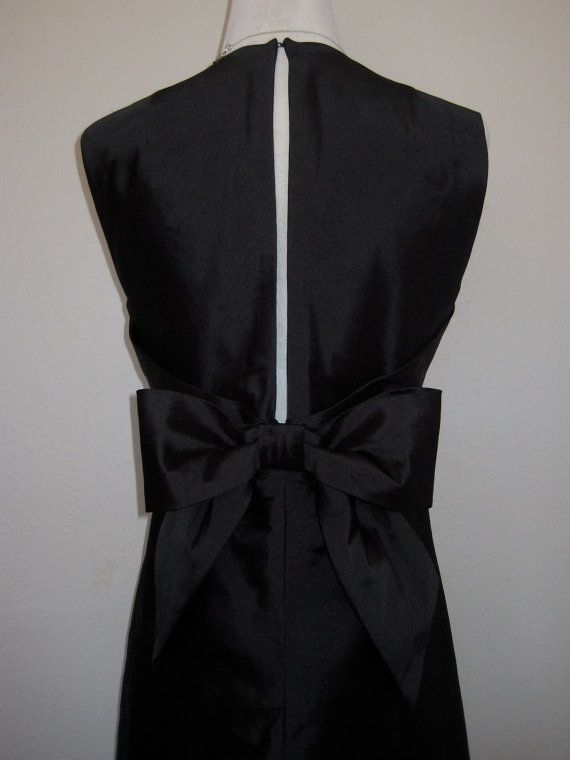 Simple Black Elegance  Vintage Inspired Made in by TheFrockCloset