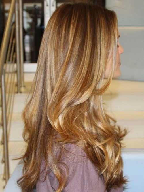 Love that color! 40 Blonde And Dark Brown Hair Color Ideas