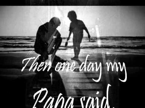PAPA - PAUL ANKA - LYRICS .wmv.The most BEAUTIFUL father song.Every word rings true to what a true and devoted father should be!!