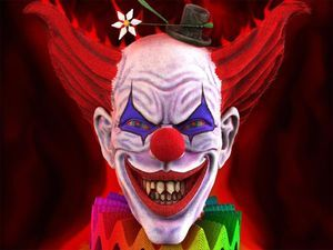 Evil-clown-1-clownopedia - Not to be confused with Monster Clowns  Evil-clown-1- Although clowns are originally comic performers and characterized to humor and entertain people, the image of the evil clown is a development in popular culture, in which the playful trope of the clown is rendered as disturbing through the use of horror elements and dark humor.