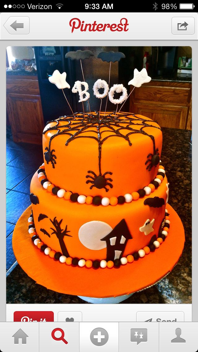 37 best Brody Michael is turning ONE! images on Pinterest Birthday - halloween decorated cakes