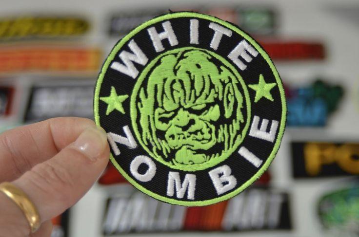 WHITE ZOMBIE Thrash Metal  Iron on Patch