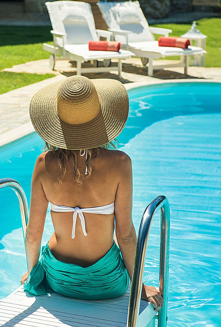 Enjoy luxury summer vacations and relax at the pool area of your private villa!