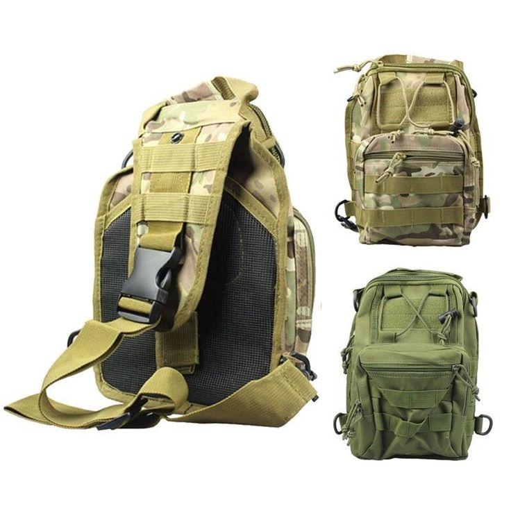 Molle Tactical Sling Chest Bag Assault Pack Messenger Travel Bags Shoulder Bag | Sporting Goods, Outdoor Sports, Camping & Hiking | eBay!