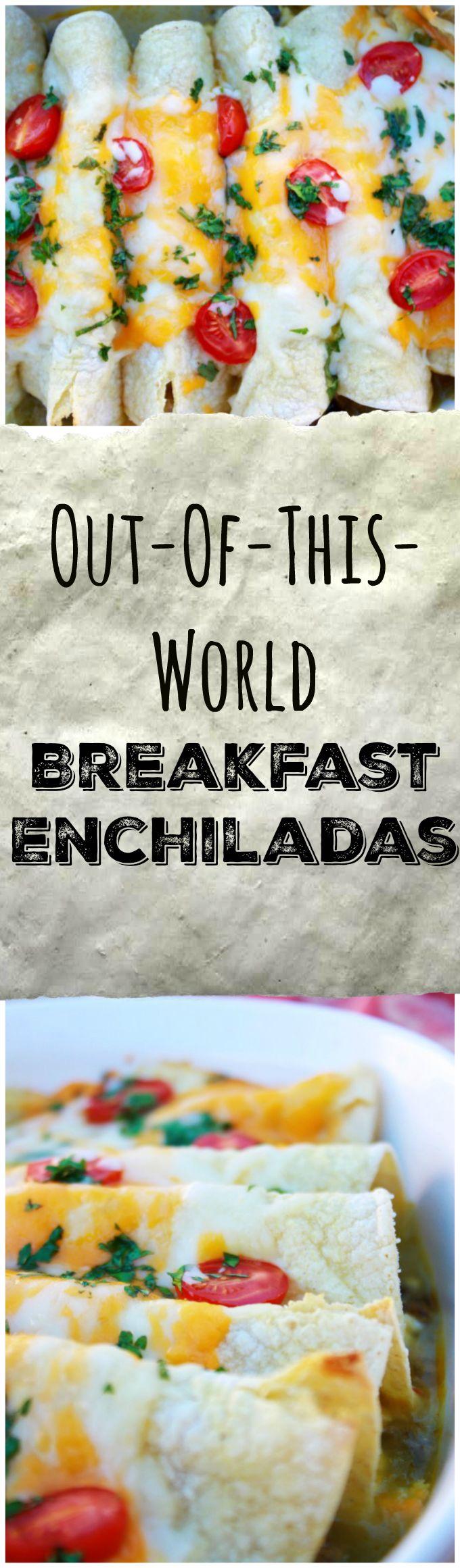 Breakfast Enchilada Recipe - The Funny Mom Blog