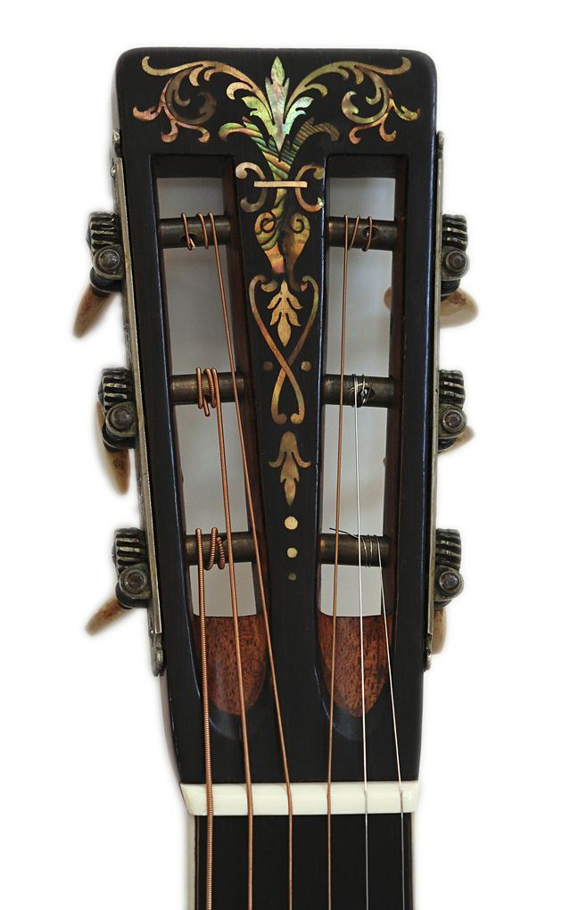the inlay on these Martin 45's is amazing
