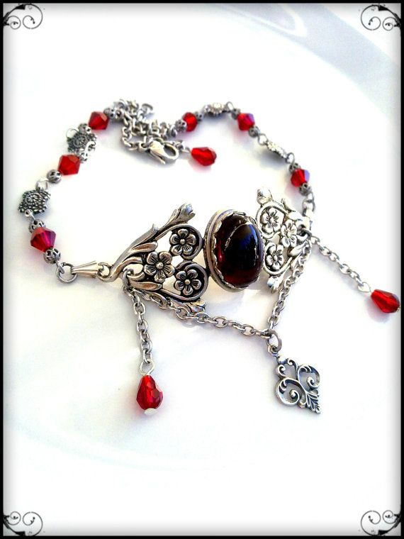 Victorian Gothic Choker Necklace by ApplebiteJewelry