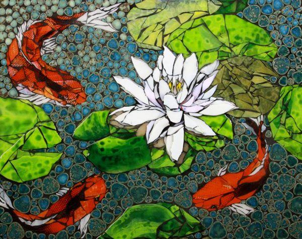 mosaic artwork | Faith is Torment | Art and Design Blog: Mosaic Art by Melonhead ...