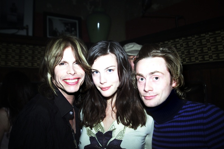 Feb 2001. With her dad, Steven. and her ex husband, Royston Langdon.