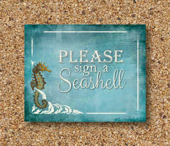 Gelieve aan te melden een zeeschelp gast door SasafrasPrintables