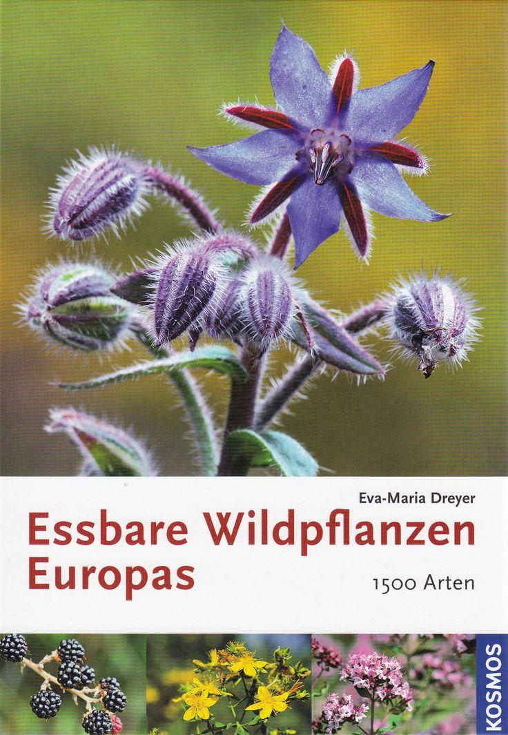 Essbare Wildpflanzen Europas: 1500 Arten von Eva-Maria Dreyer, Franckh Kosmos Verlag 2010, ISBN-13: 978-3440119358