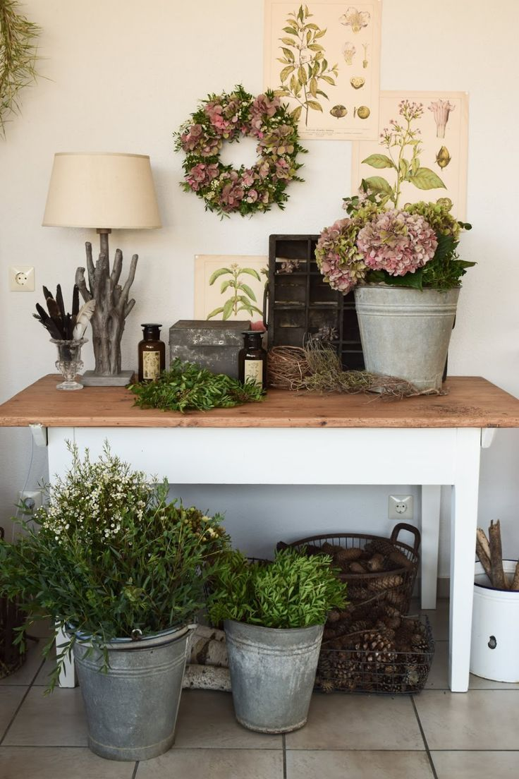 DIY Hortensienkranz selber machen: Kranz aus Hortensien, Wachsblumen, Pistazie b… – Eclectic Hamilton: DEKO, DIY und Wohnideen