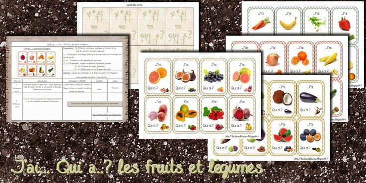 La maternelle de Laurène: J'ai ............. Qui a? fruits et légumes