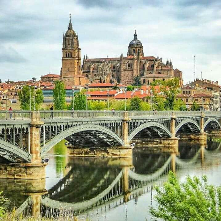 Salamanca in Spain.
