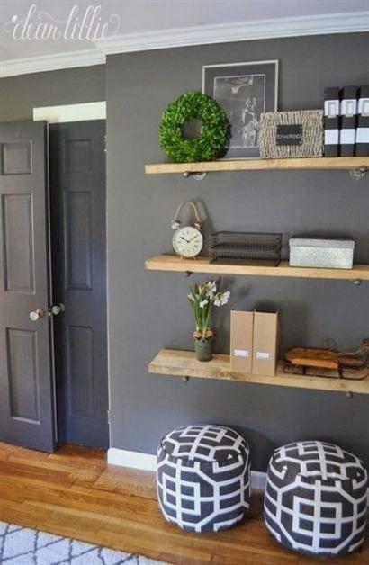 Bathroom shelf above toilet storage ideas powder rooms 18 ideas   – •• BATHROOM ••