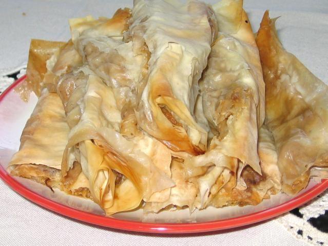 Bulgarian apple-walnut banitza recipe is a sweet dessert version of savory banitza served as an appetizer or vegetarian main course.