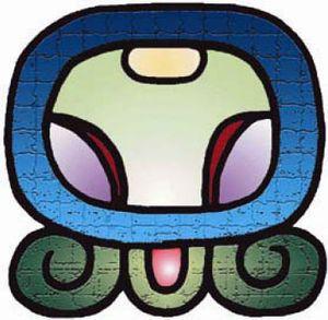 Baatz  ORIENTACION: ESTE ELEMENTO: FUEGO LA CLAVE: BUSCAR RESPUESTAS EN EL TIEMPO Y EL ESPACIO DESARROLLO: CREATIVIDAD, SERVICIO COMUNITARIO. QUE SIGNIFICA B'AATZ' Simboliza el tiempo desenrollado, la evolución y la vida humana. Los mayas representan el tiempo como si este fuese un hilo enrollado en un carrete que se encuentra debajo de la tierra. Es la divinidad que hizo el cielo y a la tierra, creadora de la vida y la sabiduría. Es el tiempo que tarda la gestación humana.